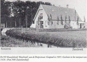 """Kaasfabriek """"Hensbroek"""", Hensbroek"""