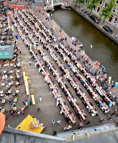 Wereldrecordpoging-Kaasmarkt-Alkmaar